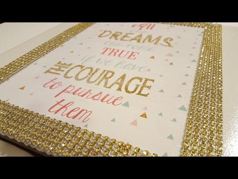 DIY Dollar Tree Picture Tile | Mod Podge Crafts