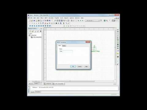 Ajouter un bloc hiéarchique (Multisim)