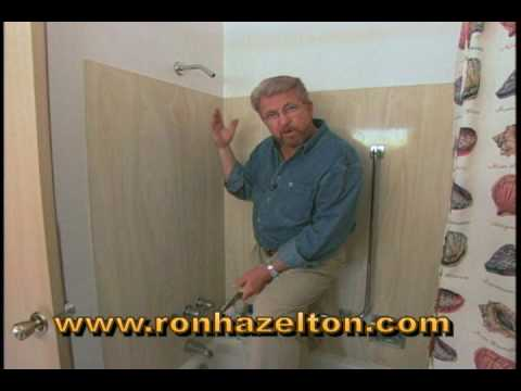 How to Install a Shower Wand and Arm