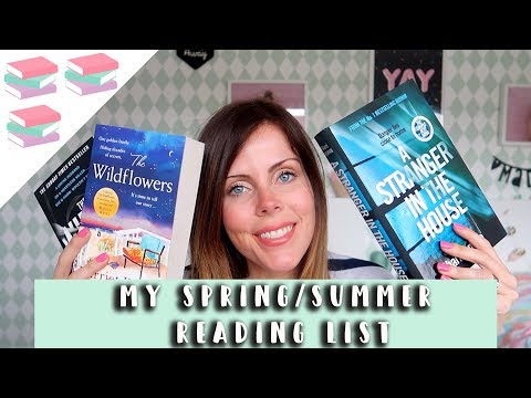 BOOK HAUL - WHAT'S ON MY SPRING/SUMMER READING LIST?