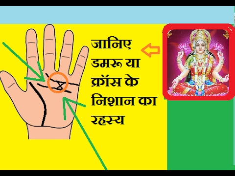 🖐Hand LINES ! This x Sign wil change your Lifestyle ! Palmistry hindi