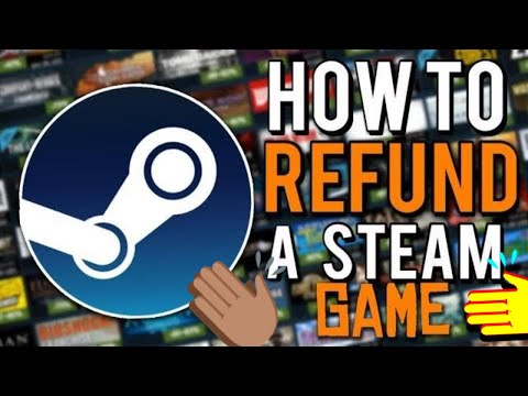 How To Refund A Game On Steam | 2017 Tutorial | SEE DESC.