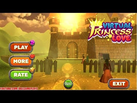 Virtual Princess Love: Happy Family Kingdom Android iOS Gameplay (By Toucan Games 3D)
