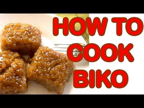 HOW TO COOK BIKO (RICE CAKES) PANLASANG PINAY