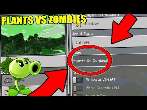 NEVER Play Minecraft The PLANTS VS ZOMBIES WORLD! (Haunted
