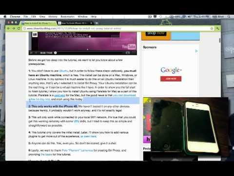 How to create a Siri Proxy Server and get siri on iPhone, iPod, or iPad