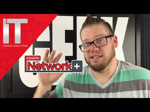 What is the Network+ Certification?  Let's discuss the CompTIA Network Plus Certification