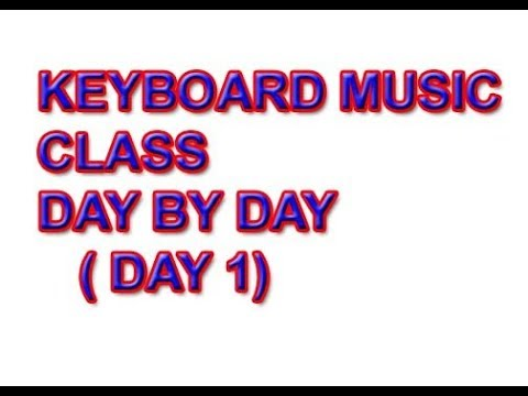 keyboard music class in tamil day 1
