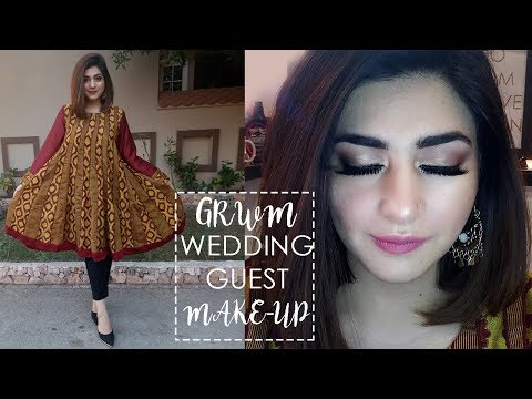 GRWM | Pakistani/ Indian Wedding Glam Make-Up Look | GLOSSIPS
