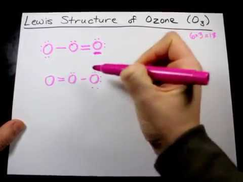 Draw the Lewis Structure of Ozone (O3)