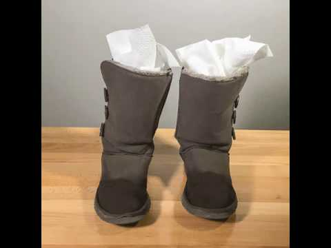 Boot Drying Tip