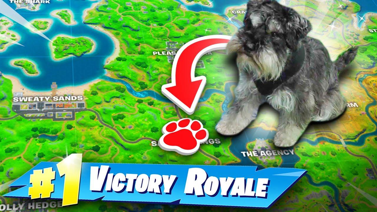 LAZARBEAM'S DOG PICKS MY DROP SPOT!