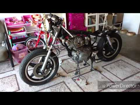 Honda CM400T Cafe Racer Build PART 2 - Dissasembly
