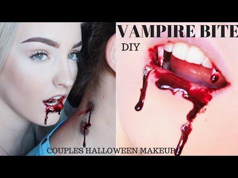 VAMPIRE BITE | Couples Halloween Makeup