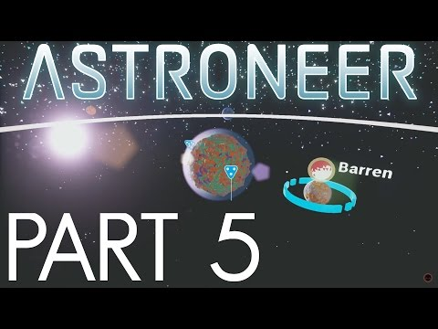 TRADING STATION, SHUTTLE AND INTO SPACE WE GO!!!   Astroneer Gameplay / Let's Play   Part 5