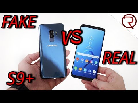 FAKE VS REAL Samsung Galaxy S9 Plus - 1:1 CLONE - Buyers BEWARE!