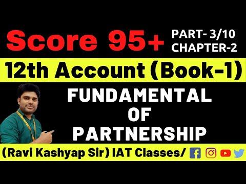 Fundamental of Partnership Clasa 12 [Part-3],Profit & loss Appropriation