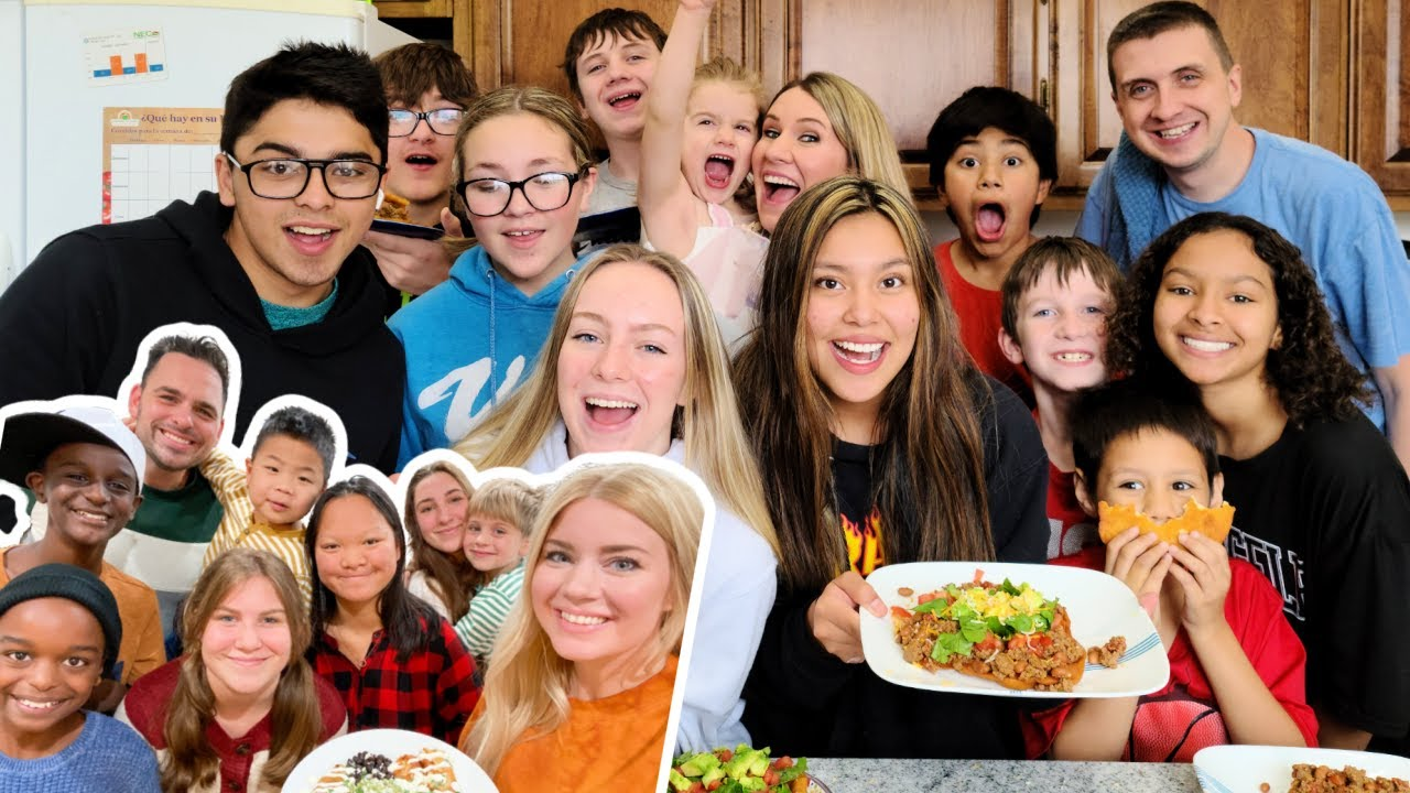 FRIENDSGIVING WITH @THE MILLER FAM! | Large Family Cook Off