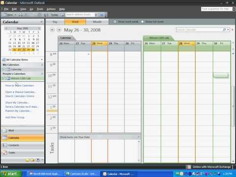 Adding a Shared Calendar