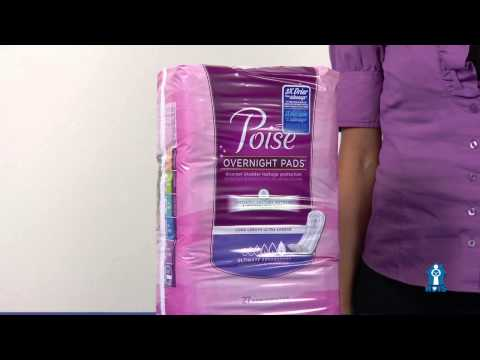 Poise Overnight Pads