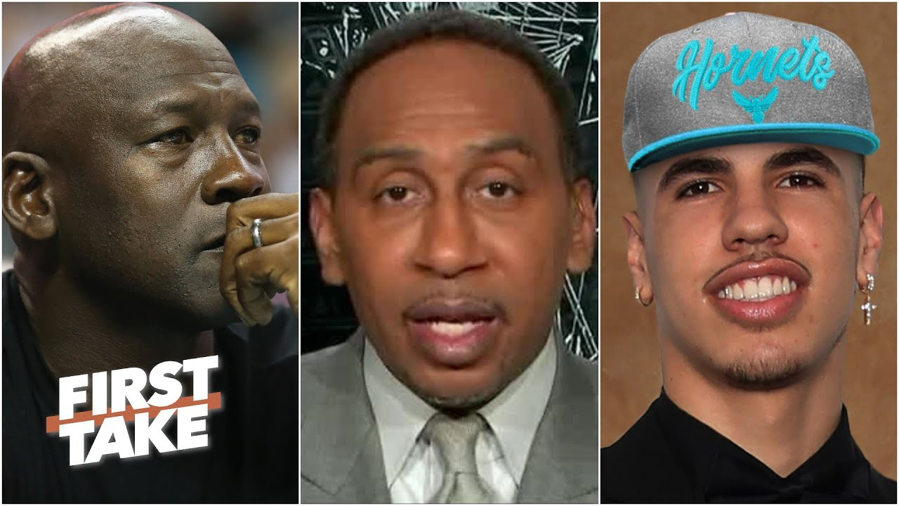 Did Michael Jordan make the right choice by drafting LaMelo Ball to the Hornets? | First Take