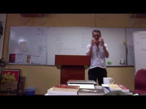 AL 527 Final Exam oral interpretation and Burell Modeling