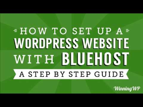 How to Make a WordPress Website with Bluehost Hosting - A Quick and Easy Step-by-Step Guide for 2018