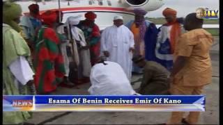 Esama Of Benin Receives Emir Of Kano