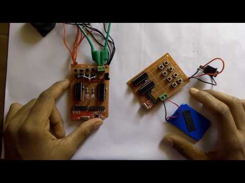 How to make easily 8 channel wireless  transmitters and receiver