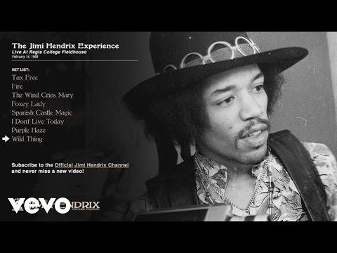 Jimi Hendrix, The Jimi Hendrix Experience - Wild Thing - Regis College 1968 (Audio)