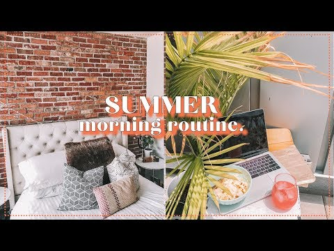 SUMMER Morning Routine | Antonnette