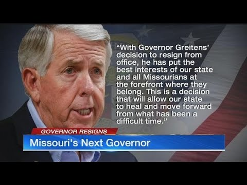 Mike Parson, fellow military vet, to succeed Greitens as Missouri governor