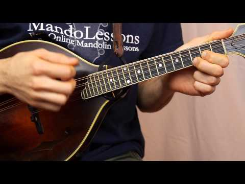 Beginner Mandolin Series (Part 6) - Learn To Play A Song (Cindy)