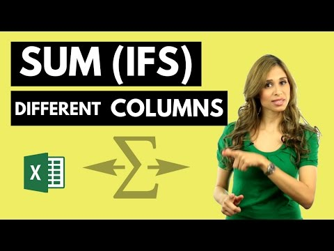 Excel SUMIFS: Sum Alternate Columns based on Criteria and Header