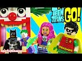 Teen Titans Go Lego Batman Captured Joker Starfire Robin And