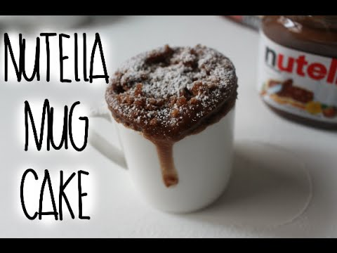 Nutella Mug Cake Recipe!