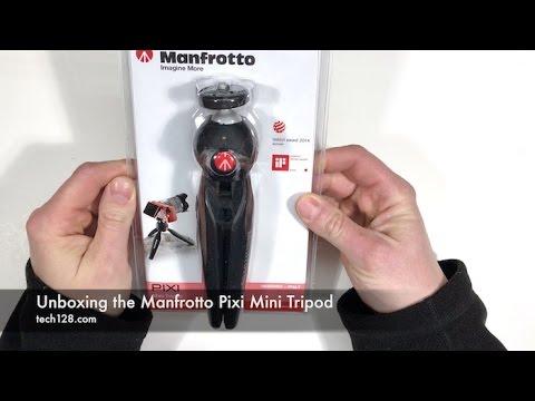 Unboxing the Manfrotto Pixi Mini Tripod