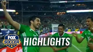 Mexico vs. Honduras | 2017 CONCACAF Gold Cup Highlights