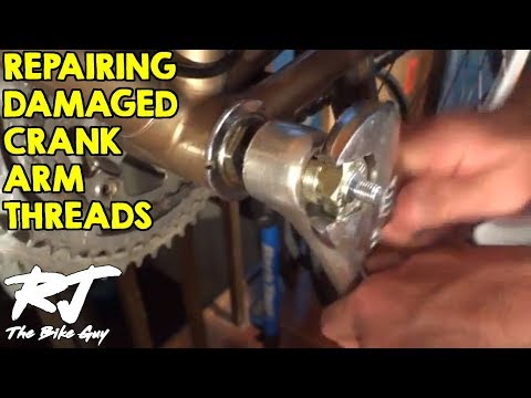 How To Repair Damaged Crank Arm Threads