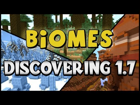 [Minecraft] Discovering 1.7 :: BIOMES (Savanna, Mesa, and MORE)