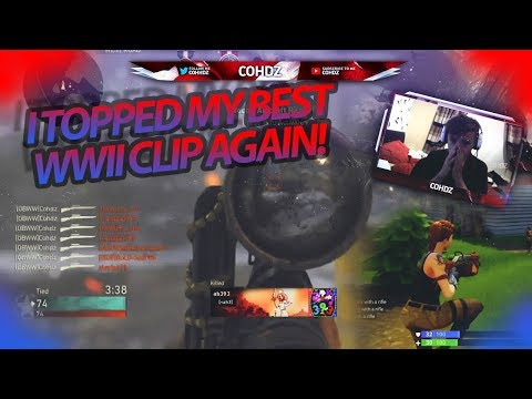 I TOPPED MY BEST WWII CLIP AGAIN | Live Highlights #41! | @cohhdz