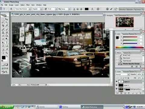Picture Manipulation in Photoshop CS2