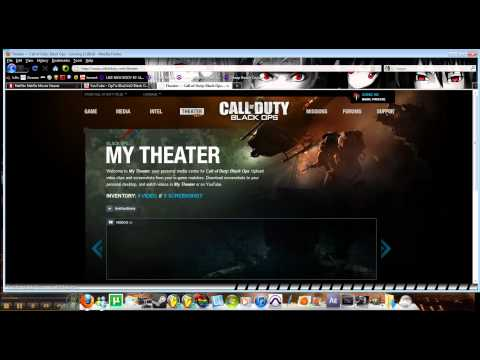 How to use theater mode in Black Ops