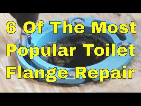 6 Of The Most Popular Toilet Flange Repair