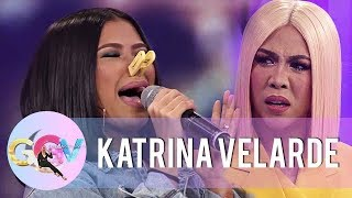 GGV: Katrina Velarde wows Vice Ganda as she takes on a birit challenge