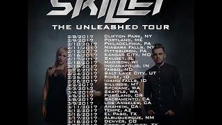 Unleashed Tour 2017 Announcement