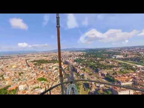 Holotour Air Blimp Rome Colosseum