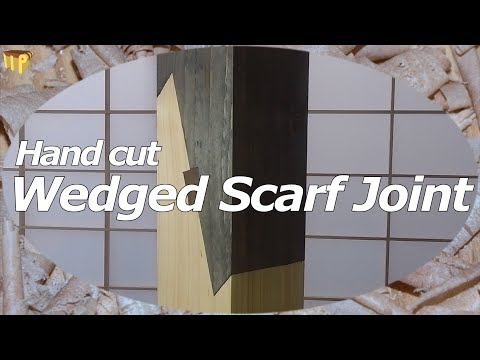 Wedged Scarf Joint (Hand Cut Timber Framing)