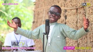 He is Gifted !!! Blind 10 year old sings like an Angel