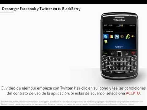 BlackBerry Bold - Descargar Facebook y Twitter en tu Blackberry